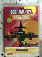 LOS AMANTES PASAJEROS DVD PEDRO ALMODOVAR JAVIER CAMARA CECILIA ROTH ESPAÑOL AM