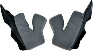 Black Cheek Pads for AFX FX-19 Helmet Multicolored X-Small 0134-1353