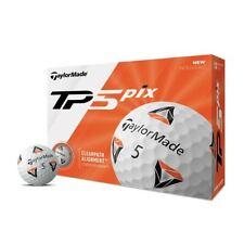 TaylorMade Golf 2020 TP5 Pix 2.0 Golf Balls (1) Dozen, 12 Total Balls