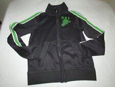 Abercrombie & Fitch Kids Boys Muscle Medium M Zip-Up Track Jacket Dark Grey NWT