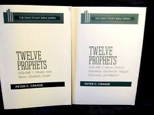 TWELVE PROPHETS - VOL. 1 & 2 - ( 2 BOOKS ) - PETER C. CRAIGIE -  PAPERBACKS
