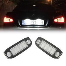 For Volvo C30 S40/v50 S60 S80 V70 CX60 CX70 LED License Plate Lights Rear Lamps