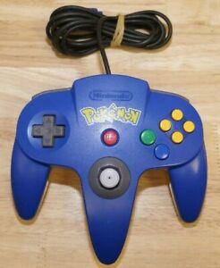 Nintendo 64 OEM Controller - Pokemon Yellow & Blue - OFFICIAL N64 BRAND!