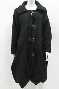 Ladies Black winter Coat Quirky coat Boho coat Langenlook Fits UK Sizes14,16,18