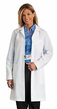 New Women's Full Length White Lab Coat, 5 Button