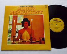Arlo GUTHRIE Alice's restaurant UK LP REPRISE K 44045 (197?) Folk VG+/EX+
