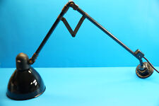 Vintage Emaille Industrie Werkstattlampe / Gelenklampe - Gelenkarmlampe  (J340