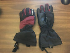 New listing Black Diamond Gloves winter snow leather Women Xs Cowhide Red Black