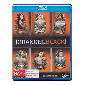 Orange Is the New Black: Season 3 Blu-ray (3 Disc Set) Brand New Region B Aust.