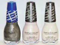 Sinful Colors Nail Polish Kylie Jenner 3 Pcs.