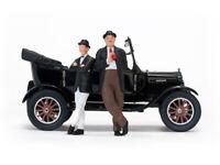 SUNSTAR 1905 FORD MODEL T TOURER  with Laurel & Hardy figures 1925 black  1:24th