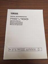 + Yamaha Digital Reverberator REV100 Service Manual Schematics Parts List
