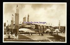 ex040 - Dominions Ave. Empire Exhibition, Scotland, 1938 - postcard