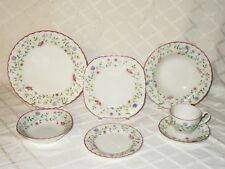 7 piece Place Setting Dinnerware Summer Chintz Johnson Brothers Made in England