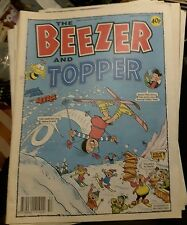 THE BEEZER & TOPPER Comic - No 120 - Date 02/01/1993