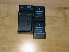 2 Pack Battery & Charger Kit Replacement For Nikon EN-EL14A