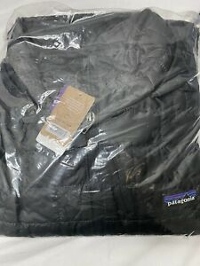 Patagonia Herren Nano Quaste Jacke Schwarz Größe XXL Nwt 84212