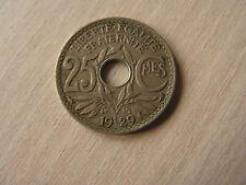 monnaie  25  centimes   1929
