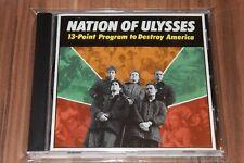 Nation Of Ulysses - 13-Point Program To Destroy America (1991) (CD) (dis57cd)
