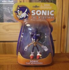 "Sonic The Hedgehog 5"" action figure - TOMY / Jazwares - MoC, Original Release"