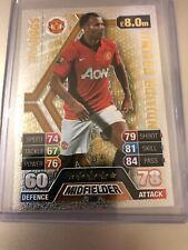 MATCH ATTAX 2013/14 RYAN GIGGS GOLD LIMITED EDITION LE5G MINT