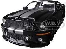 2008 FORD SHELBY MUSTANG GT500KR BLACK 1/24 DIECAST MODEL CAR BY JADA 96729