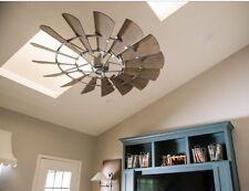 """Quorum Windmill INDOOR Ceiling Fan 60""""; Oiled Bronze In STOCK"""