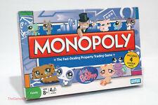 Monopoly Littlest Pet Shop Edition Parker Brothers 2008 COMPLETE (read descript)