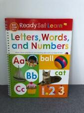 Ready Set Learn - Letters, Words & Numbers Preschool Dry Erase Book