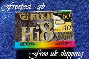 EXCELLENT QUALITY FUJI P5-60 Hi8 & DIGITAL 8 VIDEO CAMCORDER TAPE / CASSETTE