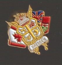 Dresden Ontario Metal Pin Pinback - Very Good