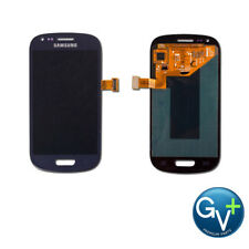 OEM-Grade Pebble Blue Touch Screen Digitizer/LCD for Samsung Galaxy S3 Mini
