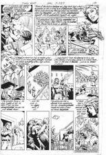 Flash #304 p.4 - Firestorm Flashback - art by Pat Broderick Comic Art
