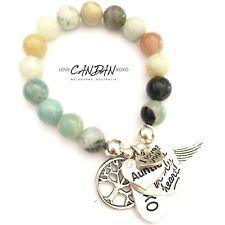 Auntie Aunt Charm Bracelet I Love You Always In My Heart Gift Idea