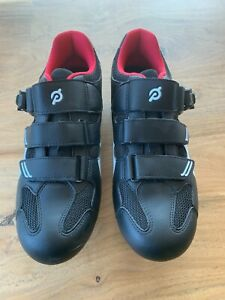 PELOTON CYCLING SHOES With Cleats - Size: EUR 39 = Women's US 8 - BRAND NEW!