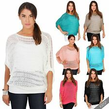 Women's 3/4 Sleeve Hip Length Polyester Jumpers & Cardigans