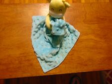 Carters Child Of Mine Yellow Giraffe Turquoise Minky Dots Security Blanket Lovey