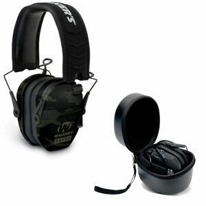 Walker's Razor Slim Shooter Camo Electronic Hearing Protection Earmuff w/ Case