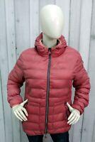 COLMAR Donna Taglia XL Giubbotto Invernale Piumino Giubbino Giacca Rosa Jacket