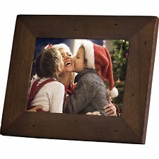Polaroid PDF-800CD 8 Digital Photo Frame Candlenut Distressed Wood Frame