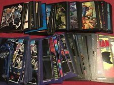 FULL SET of Batman 80 years Anniversary STICKERS & CARDS Panini