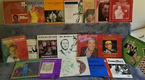Jazz vinyl job lot x20