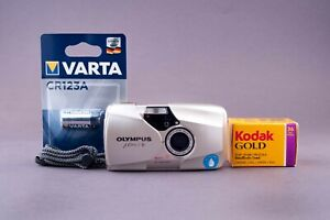 Olympus Mju II Stylus Epic DLX 35mm Point & Shoot Film Camera