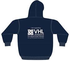 VHL UK/Ireland VHL Disease Charity Navy Hoodie Hoody UNISEX