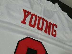 Steve Young #8 San Francisco 49ers Throwback Vapor Limited Color Rush Jersey 3XL
