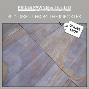 RAINBOW Wall Tile Internal for Feature 300x300x15mm SANDSTONE Natural Stone