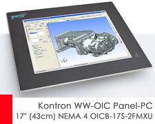 "Kontron Ww-Oic Panel PC 17 "" 16 7/8in NEMA 4 OICB-17S-2FMXU Touchscreen Atom CPU"