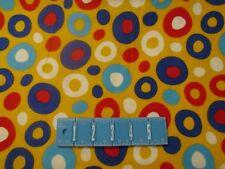 Celebrate Dr. Seuss Yellow 11966 Dots Robert Kaufman FLANNEL Fabric 1/2 YARD