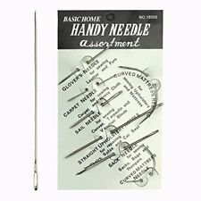 Pack of 7 Hand Repair Upholstery Sewing Needles Carpet Leather Curved Canvas TR