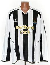 NEWCASTLE UNITED 2005/2007 HOME FOOTBALL SHIRT JERSEY ADIDAS SIZE XL LONG SLEEVE